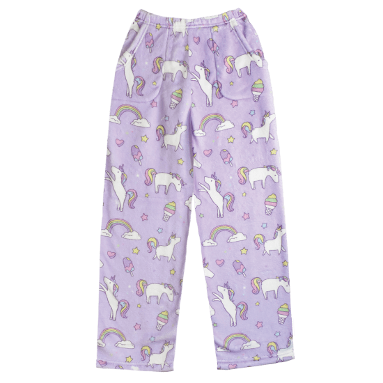 Picture of Unicorn Wishes Plush Pants
