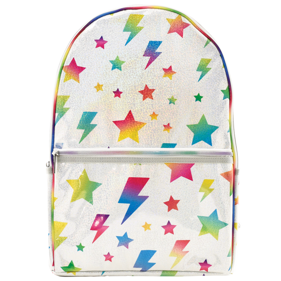 Picture of Stars and Lightning Glitter Backpack