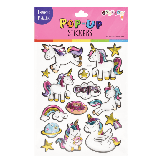 Picture of Unicorns Pop-Up Stickers