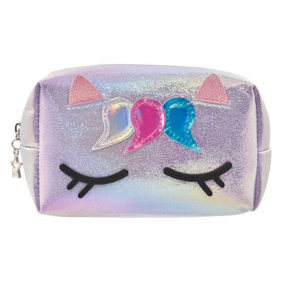 Picture of Unicorn Iridescent Small Cosmetic Bag