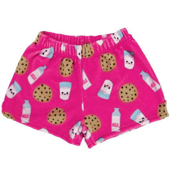 Picture of Milk and Cookies Plush Shorts