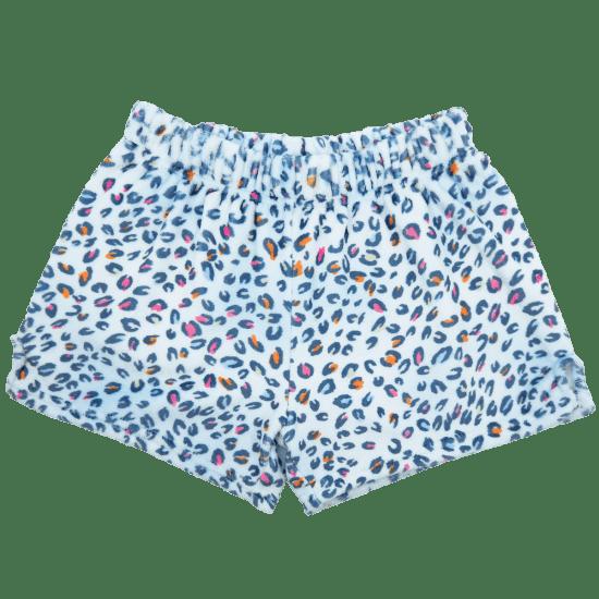 Picture of Pastel Leopard Plush Shorts