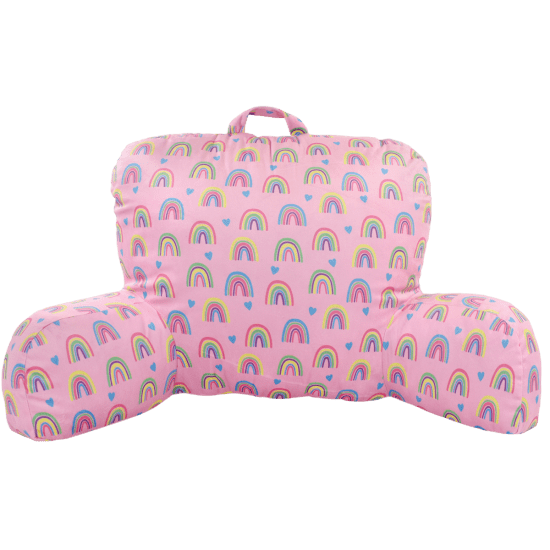 Picture of Rainbow and Hearts Lounge Pillow