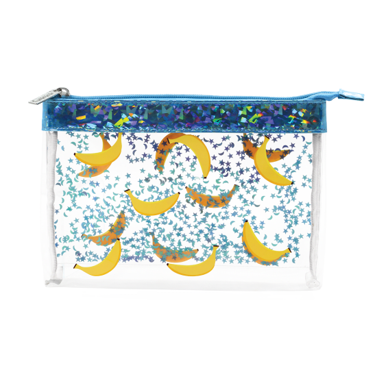 Picture of Bananas Clear Cosmetic Bag