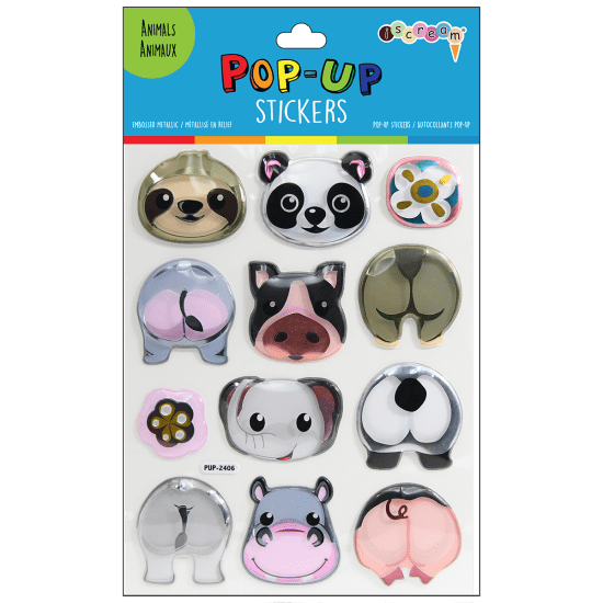 Picture of Animals Pop-Up Stickers
