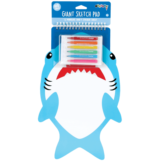 Picture of Shark Giant Sketch Pad