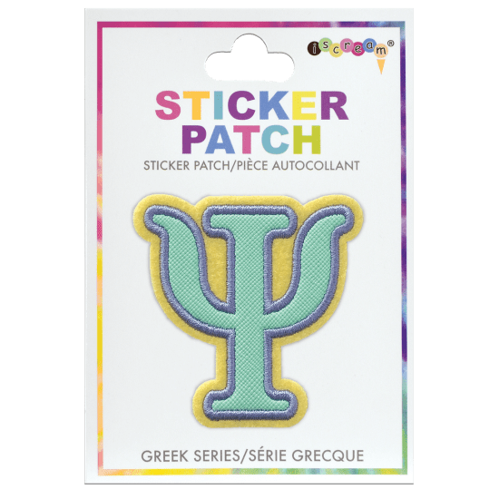 Picture of Psi Greek Letter Sticker Patch
