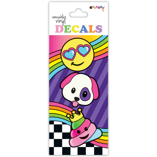 Picture of Emoji Party Vinyl Decal Small