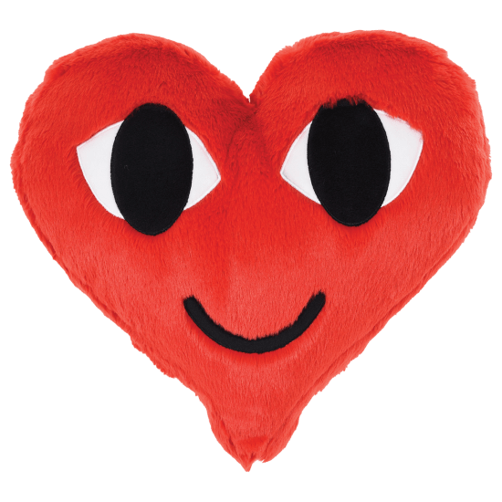 Picture of Heart Furry Pillow