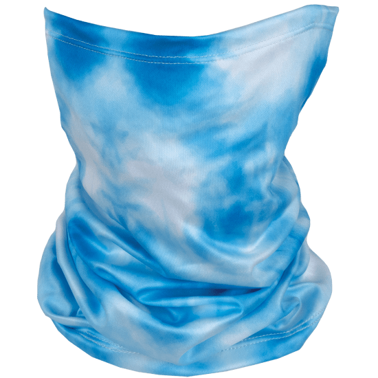 Picture of Sky Blue Tie Dye Gaiter Face Mask