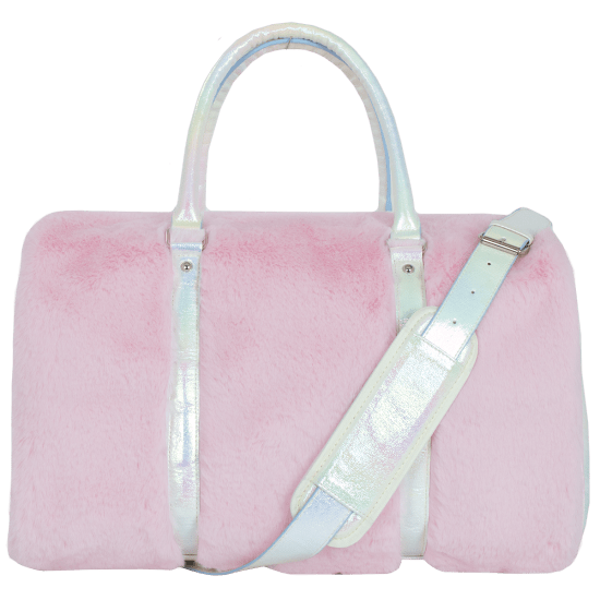 Picture of Rose Furry Duffle Bag