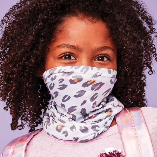 Picture of Pastel Leopard Gaiter Face Mask