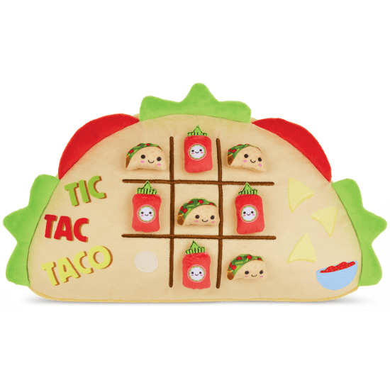 Picture of Tic-Tac Taco Fleece Pillow