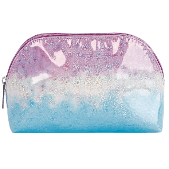 Picture of Ombre Sparkly  Oval Cosmetic Bag