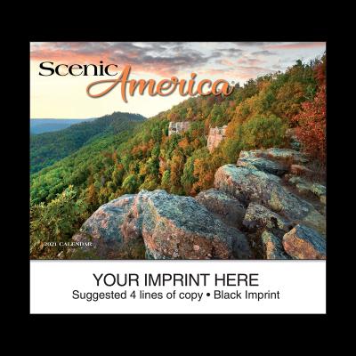 Picture of Scenic America Wall Calendar