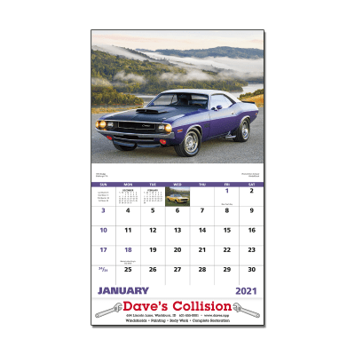 Picture of Muscle Thunder Wall Calendar