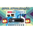 Cinebox Legend X - Full HD iptv Iks Sks Wifi Dual Core