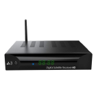 Receptor Audisat A3 WiFi USB Full HD IKS SKS Brasil App Web Film