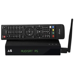 Receptor Audisat A5  plus- iks sks Iptv  wifi Full HD