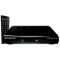 Receptor GLOBALSAT GS88 CS FULL HD (Cabo)