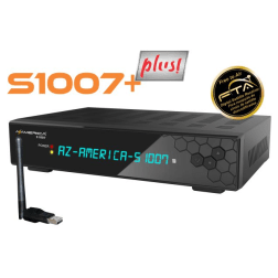 AzAmérica S1007 Plus - Full HD ACM IPTV Wifi - Receptor FTA