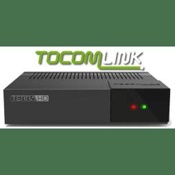 Receptor Tocomlink Terra HD + Conversor Digital - Lançamento 2017