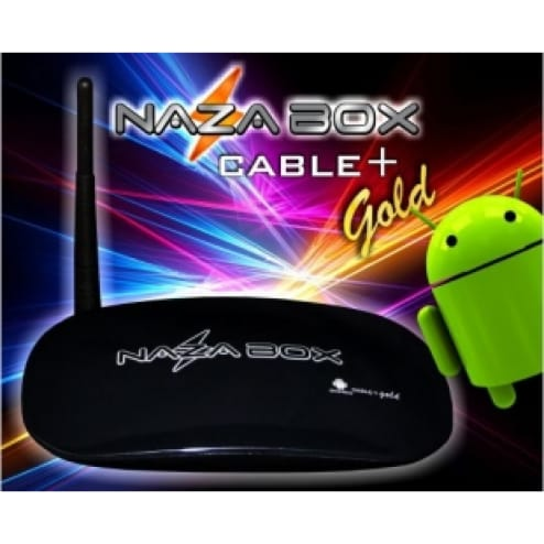 Nazabox Cable + Gold HDTV Android