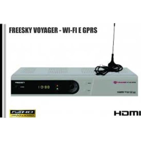 Receptor Freesky voyager HD + WIFI + GPRS