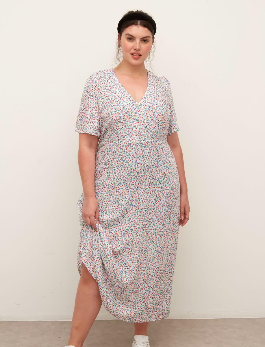 Curve Teresa Midi Dress