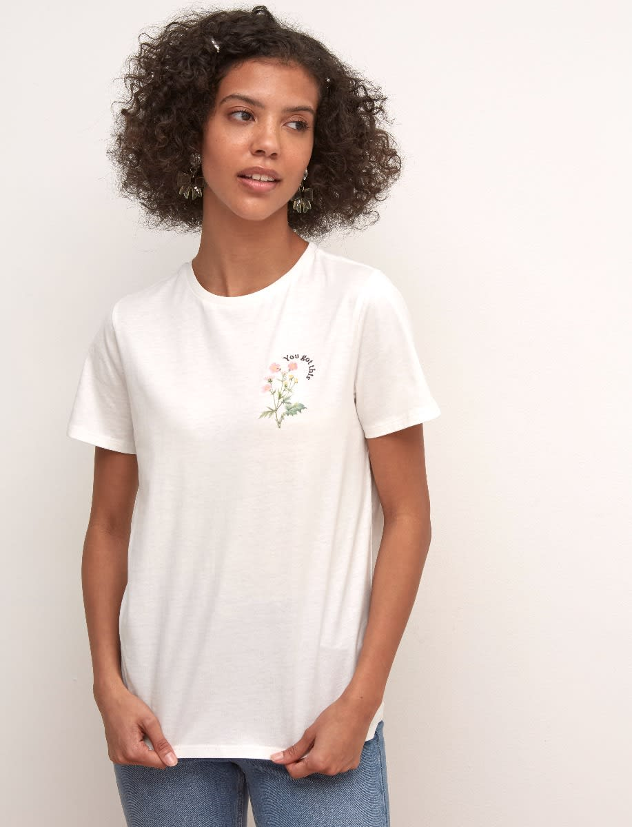 You Got This Embroidered T-Shirt