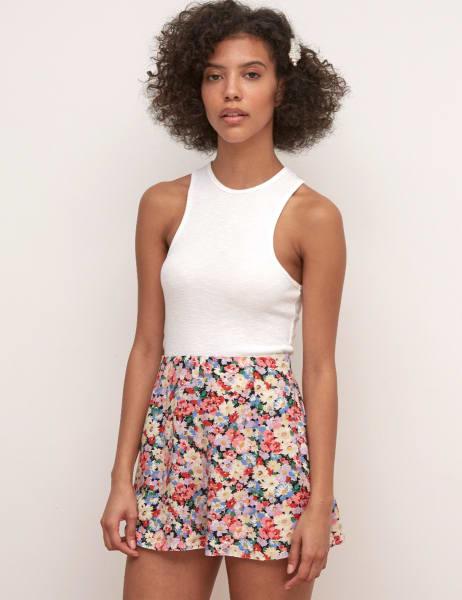 Floral Flint Short