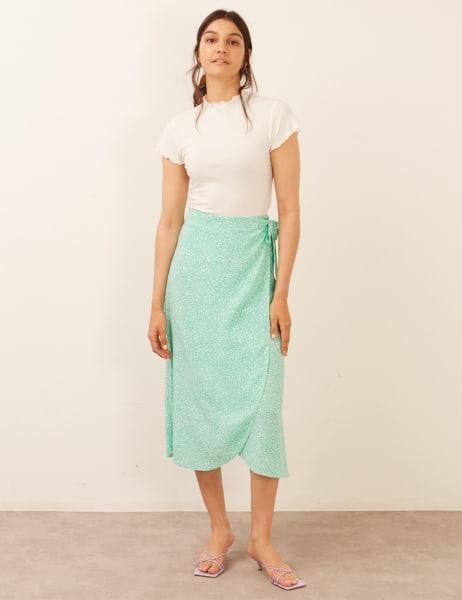 Leona Wrap Skirt