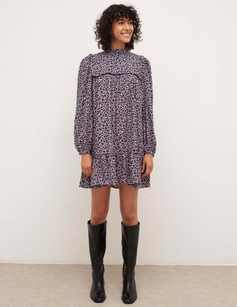 Heather Smock Mini Dress