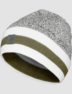 e8632925690  29 marl knit stripe wool Beanie