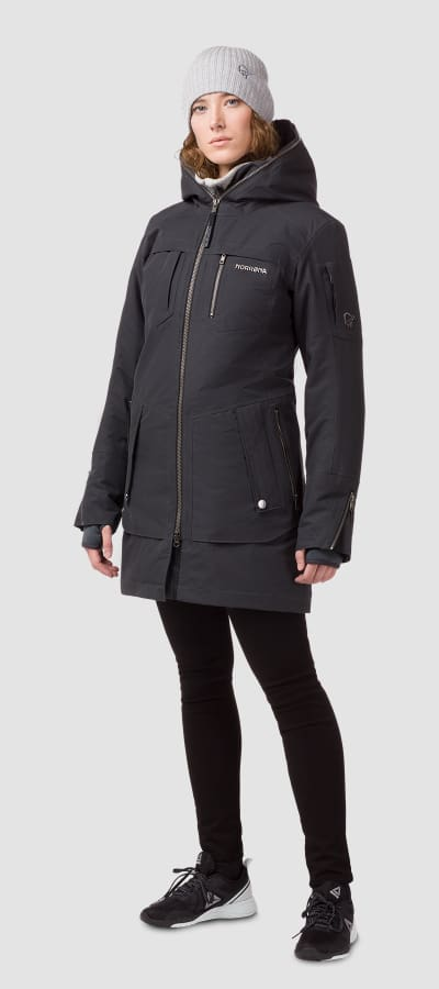Norrona 29 gore tex insulated parka womens