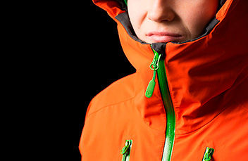 Warm winter ski jacket for kids / junior