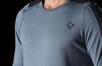 skibotn wool equaliser T-shirt