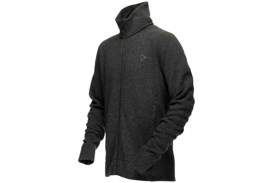 Wool jacket from norrona men