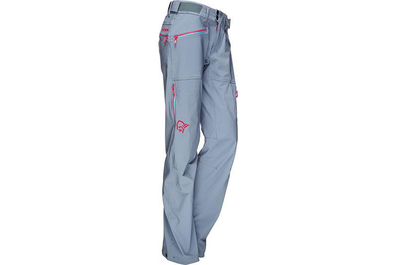 Norrona trekking pants in softshell for women - Falketind flex1