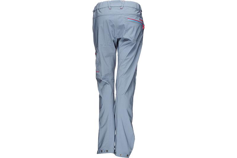 Norrona womens climbing pants in softshell falketind
