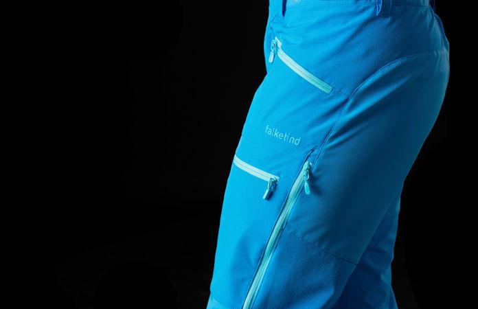 Norrøna falketind windstopper hybrid bukse til dame