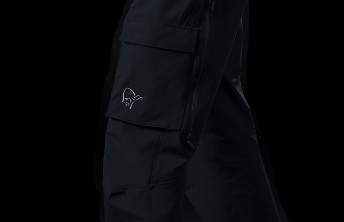 Norrona svalbard Gore-Tex pants for men