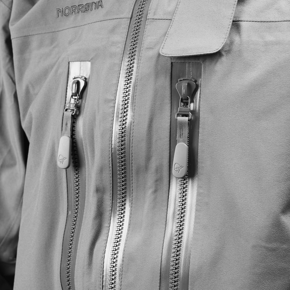 Technical details Chest pockets waterproof from outside