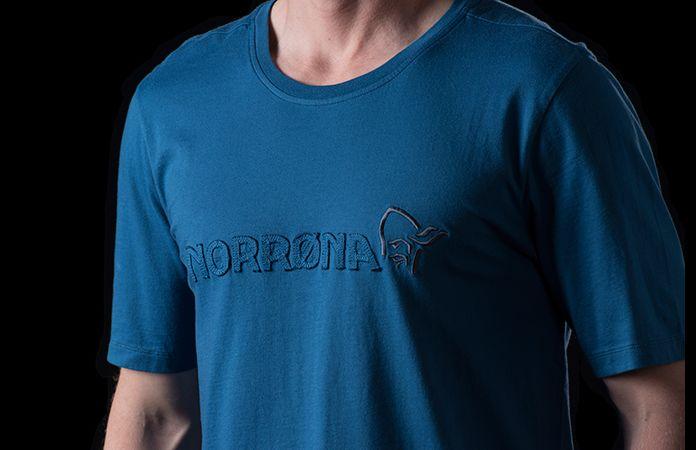 Norrøna klassisk t-skjort i økologisk bomull til herre
