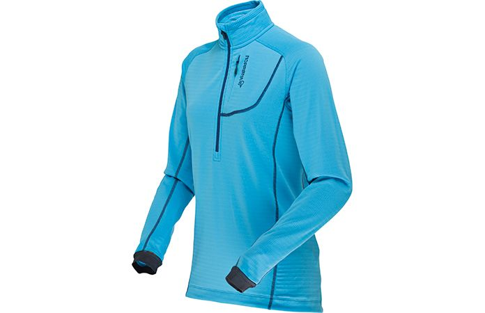 Norrøna bitihorn powerdry shirt blue women