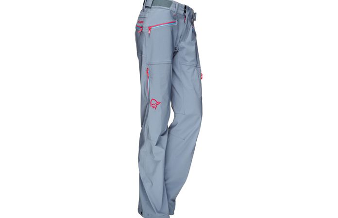 Norrona trekking pants in softshell for women - Falketind flex1