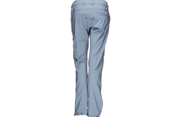 Norrona womens climbing pants in softshell falketind