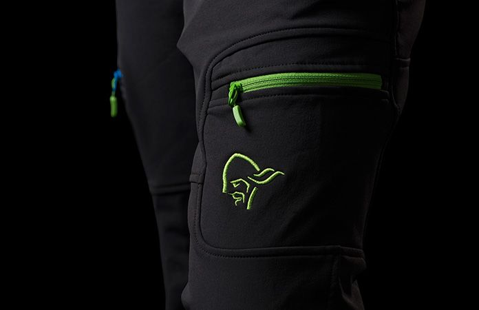 Svalbard flex1 kids pants by Norrona