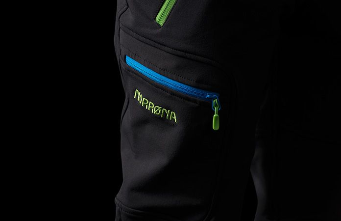 Norrona svalbard flex1 soft shell pants