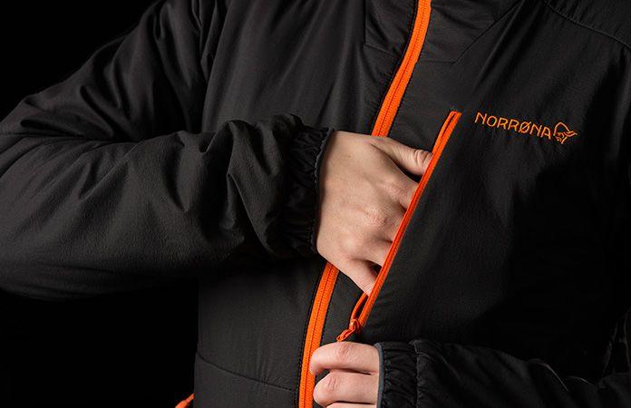 Polartec Alpha jacket women - Norrona Lofoten